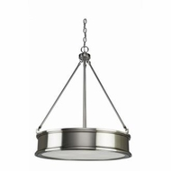 Artcraft SC13043BN Eastwick Contemporary Brushed Chrome Hanging Pendant Light