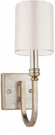 Artcraft SC1567WS Lexington Silver Leaf Wall Light Fixture
