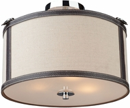 Artcraft SC872OM Bay Street Oatmeal Home Ceiling Lighting