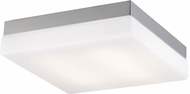 Avenue Lighting HF1109-BN Cermack St. Contemporary Brushed Nickel LED 9  Ceiling Light