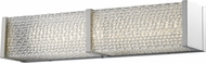 Avenue Lighting HF1120-BN Cermack St. Contemporary Brushed Nickel LED 18  Bath Wall Sconce