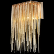 Avenue Lighting HF1200-G Fountain Ave. Modern Gold Finish 14 Tall Lamp Sconce