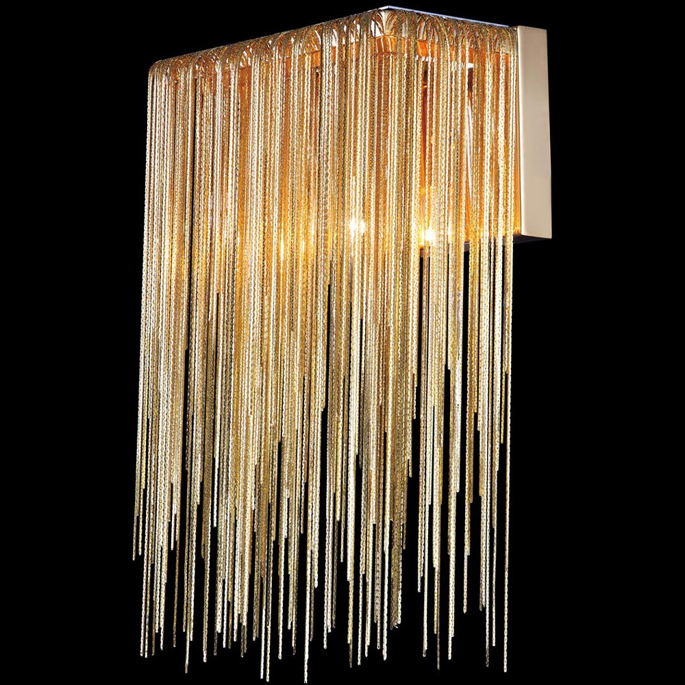Avenue Lighting HF1200-G Fountain Ave. Modern Gold Finish 14
