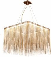 Avenue Lighting HF1203-GLD Fountain Ave Contemporary Gold LED Pendant Light