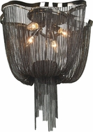 Avenue Lighting HF1403-BLK Mulholland Dr. Contemporary Black Chrome Finish 20  Wide Ceiling Lighting