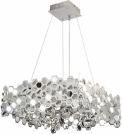 Avenue Lighting HF1713-CH Lexington Ave. Contemporary Chrome LED Hanging Lamp