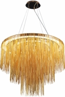 Avenue Lighting HF2222-GLD Fountain Ave Contemporary Gold LED Hanging Pendant Lighting
