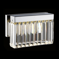 Avenue Lighting HF4001-PN Broadway Contemporary Polished Nickel LED Wall Lighting Sconce
