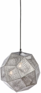Avenue Lighting HF8000-CHR La Brea Ave. Contemporary Chrome Lighting Pendant