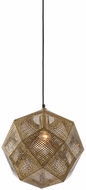 Avenue Lighting HF8000-GLD La Brea Ave. Modern Gold Pendant Lamp