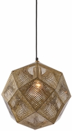 Avenue Lighting HF8001-GLD La Brea Ave. Modern Gold Hanging Light