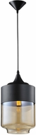 Avenue Lighting HF9114-BK-BZ Robertson Blvd. Modern Black Mini Drop Ceiling Lighting