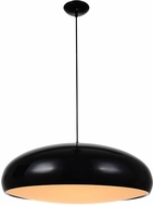 Avenue Lighting HF9116-BK Doheny Ave. Modern Black Drop Lighting Fixture