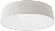 Avenue Lighting HF9201-IVY Cermack St. Modern Ivory Linen LED 16  Flush Lighting