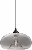 Besa 1JT-BANASM-BR Bana Contemporary Bronze Smoke Mini Pendant Lighting