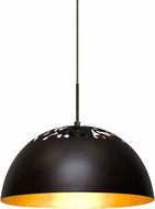 Besa 1JT-GORDY-LED-BR Gordy Contemporary Bronze LED Lighting Pendant