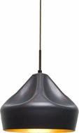 Besa 1JT-LOTUS-LED-BR Lotus Modern Bronze LED Mini Pendant Lighting Fixture