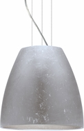 Besa 1KG-BELL16SF-LED-SN Bella Modern Satin Nickel Silver Foil LED 16  Drop Lighting Fixture