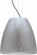Besa 1KG-BELL20SF-LED-BR Bella Contemporary Bronze Silver Foil LED 20  Pendant Light Fixture