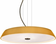 Besa 1KV-SOPHI1480-LED-BR Sophi Contemporary Bronze Amber Matte LED Lighting Pendant
