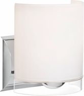 Besa 1WZ-CELTICCL-LED-CR Celtic Contemporary Chrome Opal Glossy/Clear LED Wall Lighting