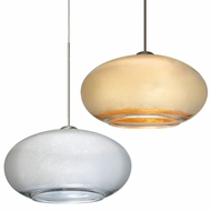 Besa 2492 Brio Contemporary 6.75  Wide Mini Ceiling Light Pendant