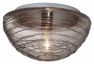 Besa 906202C Wave Modern 6.25  Tall Ceiling Lighting