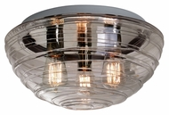 Besa 906302C Wave Modern 7  Tall Ceiling Light Fixture