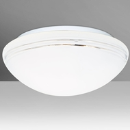 Besa 911010C-LED Bobbi Modern Opal-Cut LED 12  Ceiling Light