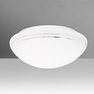 Besa 911110C-LED Bobbi Modern Opal-Cut LED 10  Ceiling Lighting Fixture