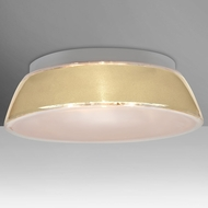 Besa 9662CRC-LED Pica Modern Creme Sand LED 20  Flush Lighting