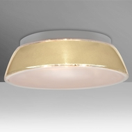 Besa 9663CRC Pica Contemporary Creme Sand 17  Home Ceiling Lighting