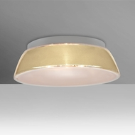Besa 9664CRC-LED Pica Modern Creme Sand LED 14  Flush Mount Lighting