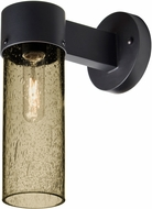 Besa JUNI10LT-WALL-BK Juni Contemporary Black Latte Bubble Outdoor 10  Lighting Wall Sconce