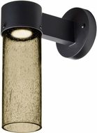 Besa JUNI10LT-WALL-LED-BK Juni Modern Black Latte Bubble LED Exterior 10  Wall Lighting Sconce