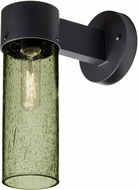 Besa JUNI10MS-WALL-BK Juni Contemporary Black Moss Bubble Outdoor 10  Wall Sconce Lighting