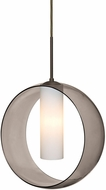 Besa Lighting 1JT-PLATOSM-LED-BR Plato Modern Bronze LED Hanging Pendant Light
