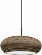 Besa Lighting 1JT-VENUS-LED-BR Venus Contemporary Bronze LED Drop Lighting