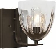 Besa Lighting 1WC-PHAN6SC-BR Phantom Modern Bronze Wall Sconce