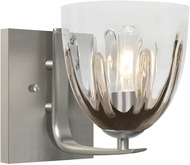 Besa Lighting 1WC-PHAN6SC-SN Phantom Contemporary Satin Nickel Wall Lamp