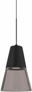Besa Lighting 1XT-TIMO6BS-LED-BR Timo Contemporary Bronze LED Mini Pendant Lighting Fixture