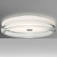 Besa Lighting TOPPER12CLC-LED Topper Contemporary LED Ceiling Lighting Fixture