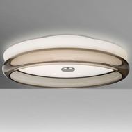 Besa Lighting TOPPER12SMC-LED Topper Modern LED Ceiling Light Fixture
