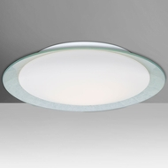 Besa Lighting TUCA19SFC-LED Tuca Modern LED Flush Mount Light Fixture