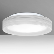 Besa PELLA13KRC-LED Pella Chalk LED Ceiling Light Fixture