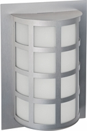 Besa SCALA13-WA-LED-SL Scala Contemporary Silver White Acrylic LED Exterior Wall Lamp