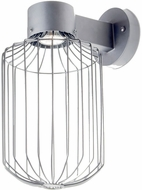 Besa SULTANA-C-WALL-LED-SL Sultana Modern Silver LED Wall Mounted Lamp