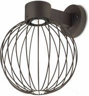 Besa SULTANA-G-WALL-LED-BR Sultana Contemporary Bronze LED Wall Light Sconce