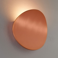 Bruck 103060CP Lunaro Contemporary Brushed Copper LED Wall Lighting