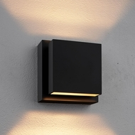 Bruck 103601BK Scobo Modern Black LED Lighting Sconce